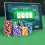 What are the reasons why the Mogeqq site is a reliable site for playing online poker games?